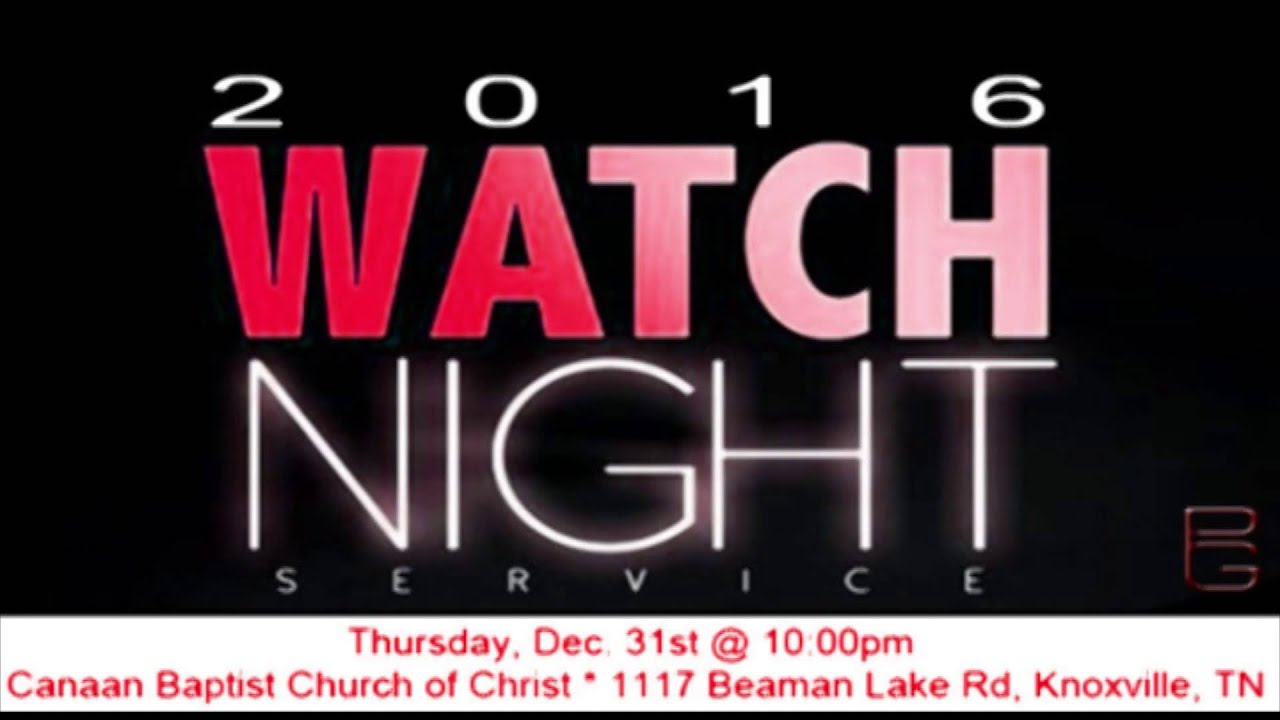 Peace and goodwill 2016 watch night service youtube