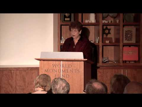 Lecture - Jewish Islamic Art and Architecture: Spain and North Africa, November 2012