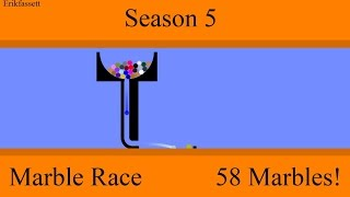 Algodoo Marble Race - Part 9 - Season 5