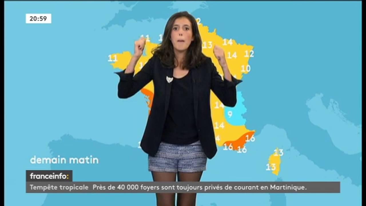 La meteo de carole tolila le 2016 09 29 sur france info - Meteo le poinconnet ...