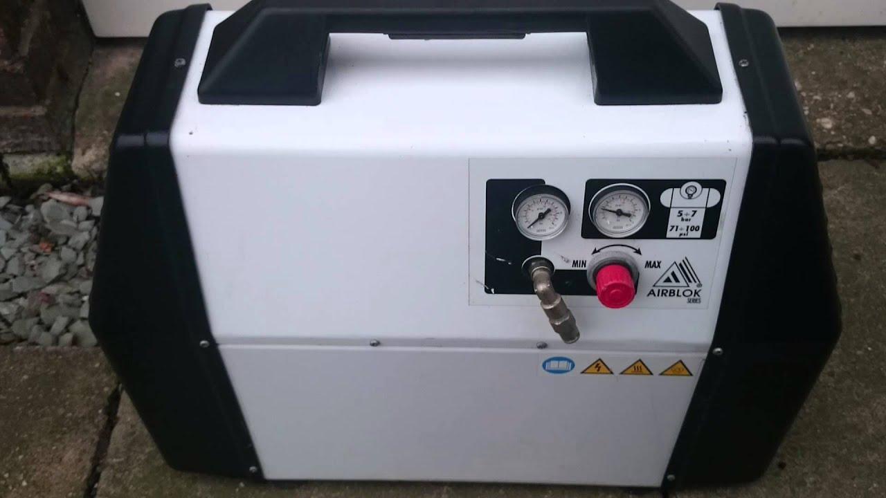 Compact Air Compressor >> Fiac/werther 106 Silent Compressor - YouTube
