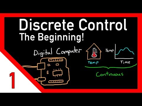 Discrete control #1: Introduction and overview
