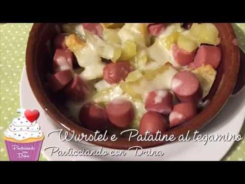 Ricetta Tegamino Wurstel.Wurstel E Patate A Tegamino Un Secondo Piatto E Contorno Davvero Simpatico Facilissimo Da Fare Youtube