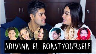 ADIVINA EL ROAST YOURSELF CHALLENGE   Alejo&Mafe
