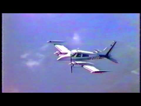 Cessna 310 G-EGEE & G-AZRR over Norfolk Uk