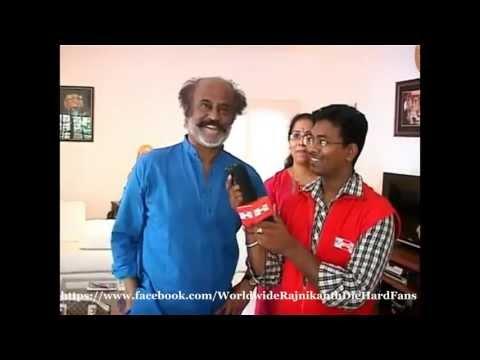 Superstar Rajini's Exclusive Interview to Big FM