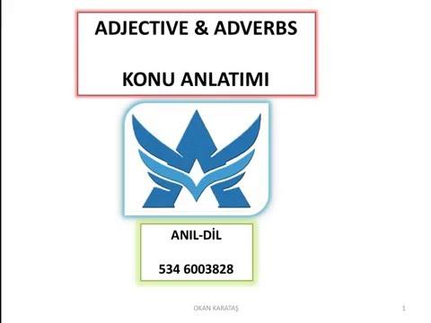 ADJECTIVE&ADVERBS