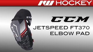 CCM JetSpeed FT370 Elbow Pad Review