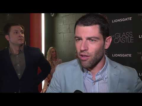 The Glass Castle New York Premiere : Itw Max Greenfield (official video)