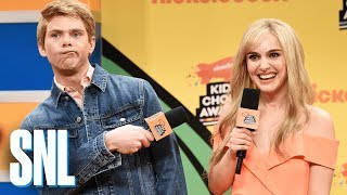 Nickelodeon Kids Choice Awards Orange Carpet - SNL