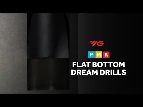 Flat Bottom Carbide Dream Drill (YG-1) - Cutwel TV