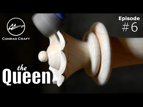 THE QUEEN : Making a Giant Chess Set  episode 6 . Conrad Craft. QUEEN SACRIFICE!!! DOUBLE EXCLAM!!