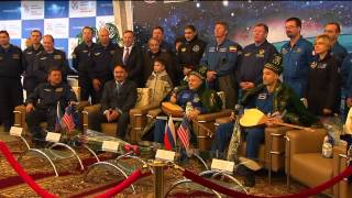 Expedition 37 Discusses Mission