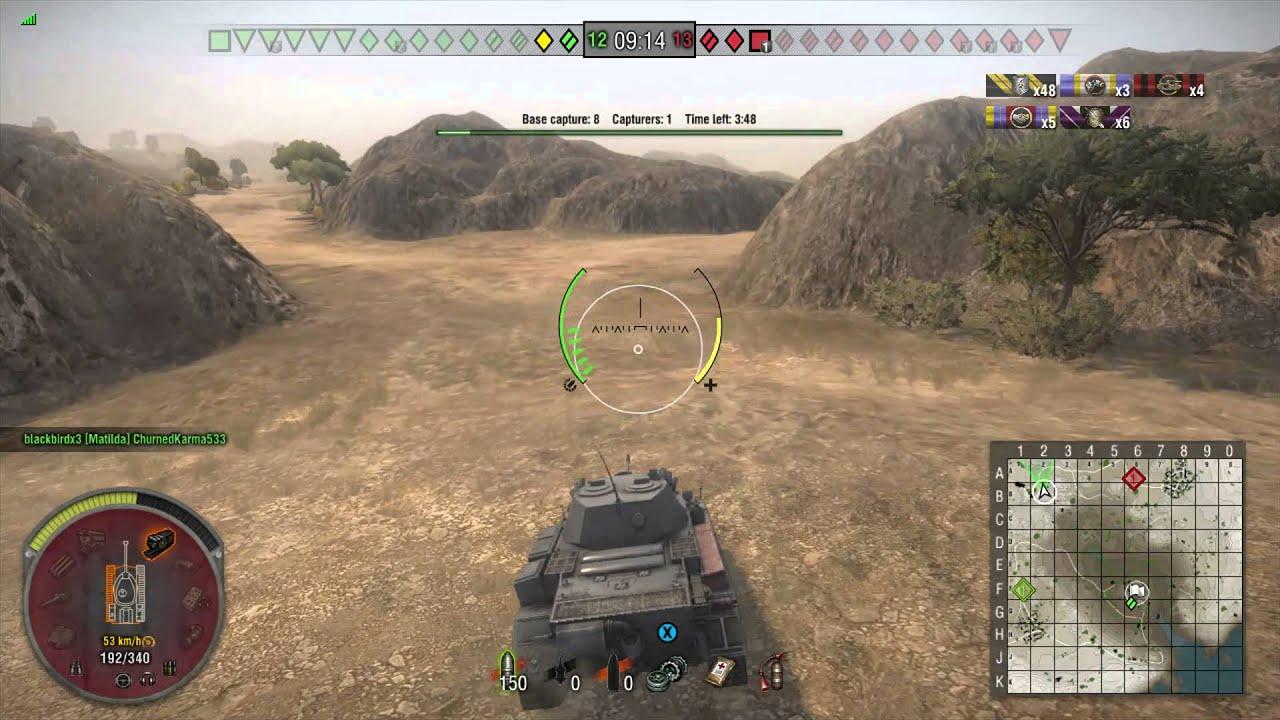 world of tanks crusader matchmaking
