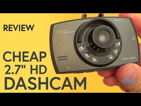 REALLY CHEAP DASH CAM Review (with Footage)