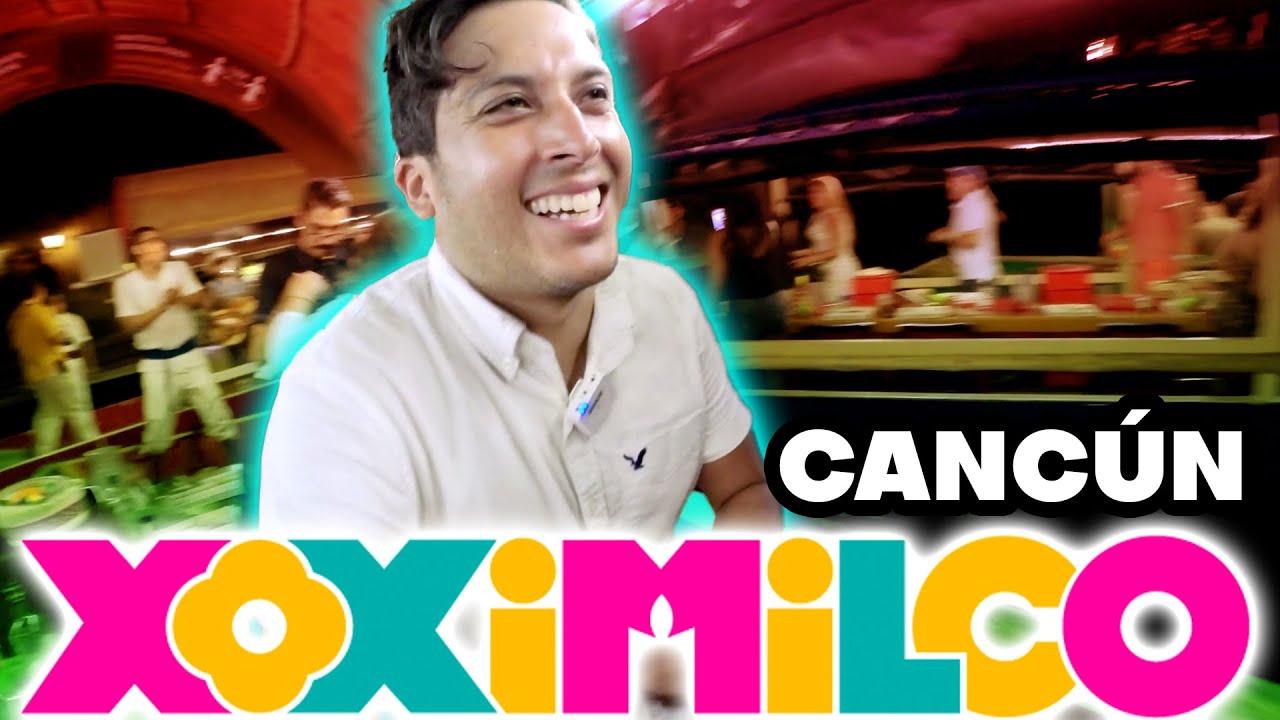 XOXIMILCO CANCUN 2020 Xcaret   Alex Tienda ✈️