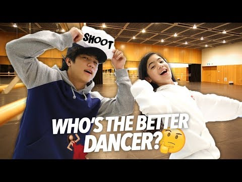 WHO'S THE BETTER DANCER? (Bro Vs Sis) | Ranz and Niana