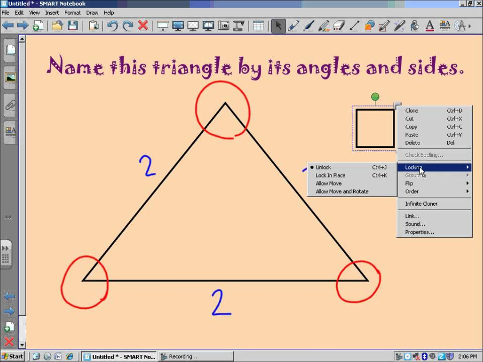 Video Walkthrough: Classifying Triangles by Angles and Sides - YouTube