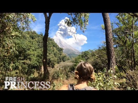 Mountain Biking the Volcano   |  Fresh P