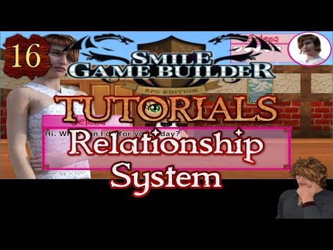 Smile Game Builder Tutorial #11: Relationship System