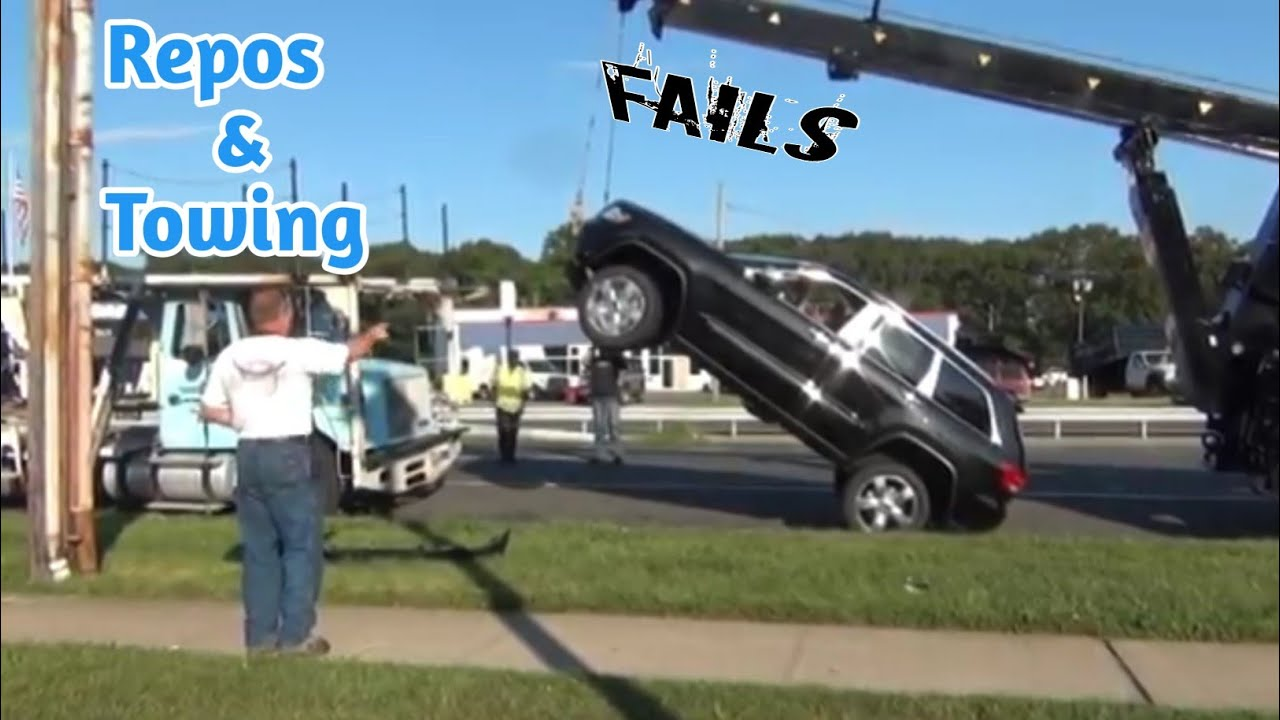 Repos and Towing Fails All Caught On Camera | Lifting Vehicles Goes Wrong