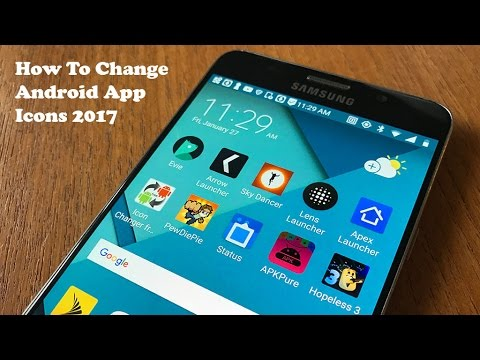 How To Change Android App Icons 2017 - Fliptroniks.com