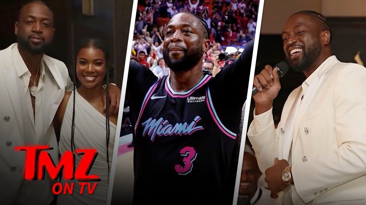 Dwayne Wade Ends His Career With A Bang! | TMZ TV