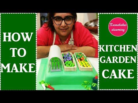 Kitchen Garden:Cake Decorating tutorial
