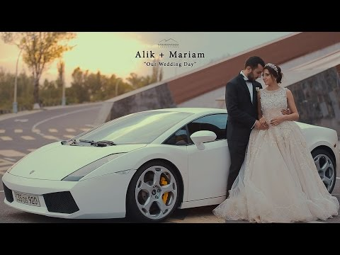 Alik + Mariam's Wedding Highlights In Florence Banquet Hall Yerevan Armenia