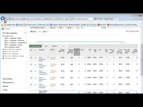 AdWords: How to Create Ad Groups in Product Listing Ads