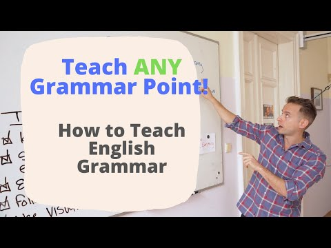 Teach Any English Grammar Point: Teaching English Language Tips