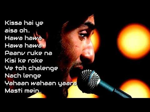 Hawa Hawa Lyrics Video   Rockstar   Ranveer kapoor   Nargis Fakhri   Mohit Chauhan