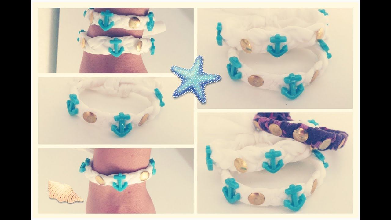 diy como hacer pulseras faciles en casa materiales reciclados youtube