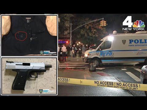Police Officer Shot, Cop's Son Killed In Harlem Shootout | NBC New York