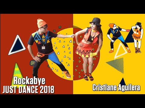"Just Dance 2018  ""Rockabye"" Gameplay With Cosplay"