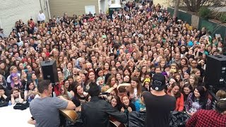 All Time Low Acoustic Show - The sound Garden Baltimore