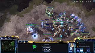 StarCraft II jugando con un mouse en mal estado