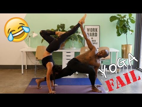 FullyRaw Yoga Challenge | LMAO Epic Fail