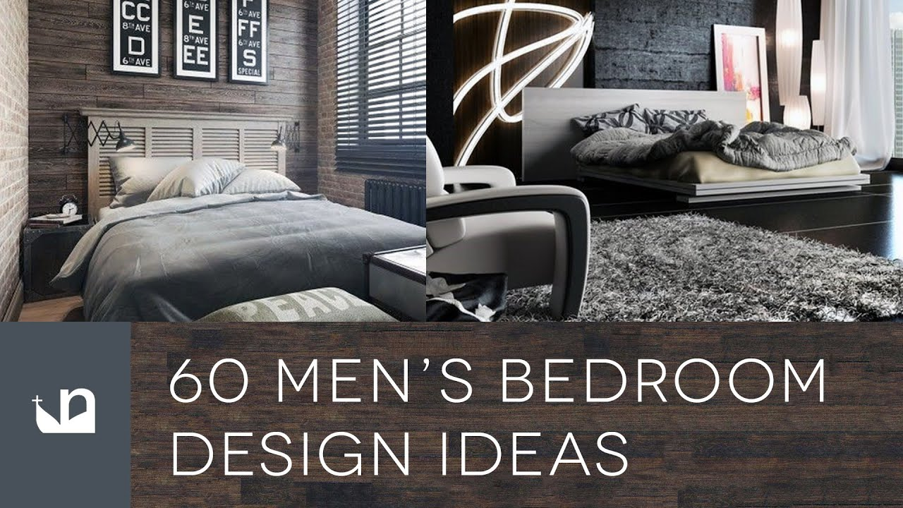 bedroom design for men.  60 Men s Bedroom Design Ideas YouTube