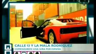 Calle 13 y Mala Rodriguez Gira @ España