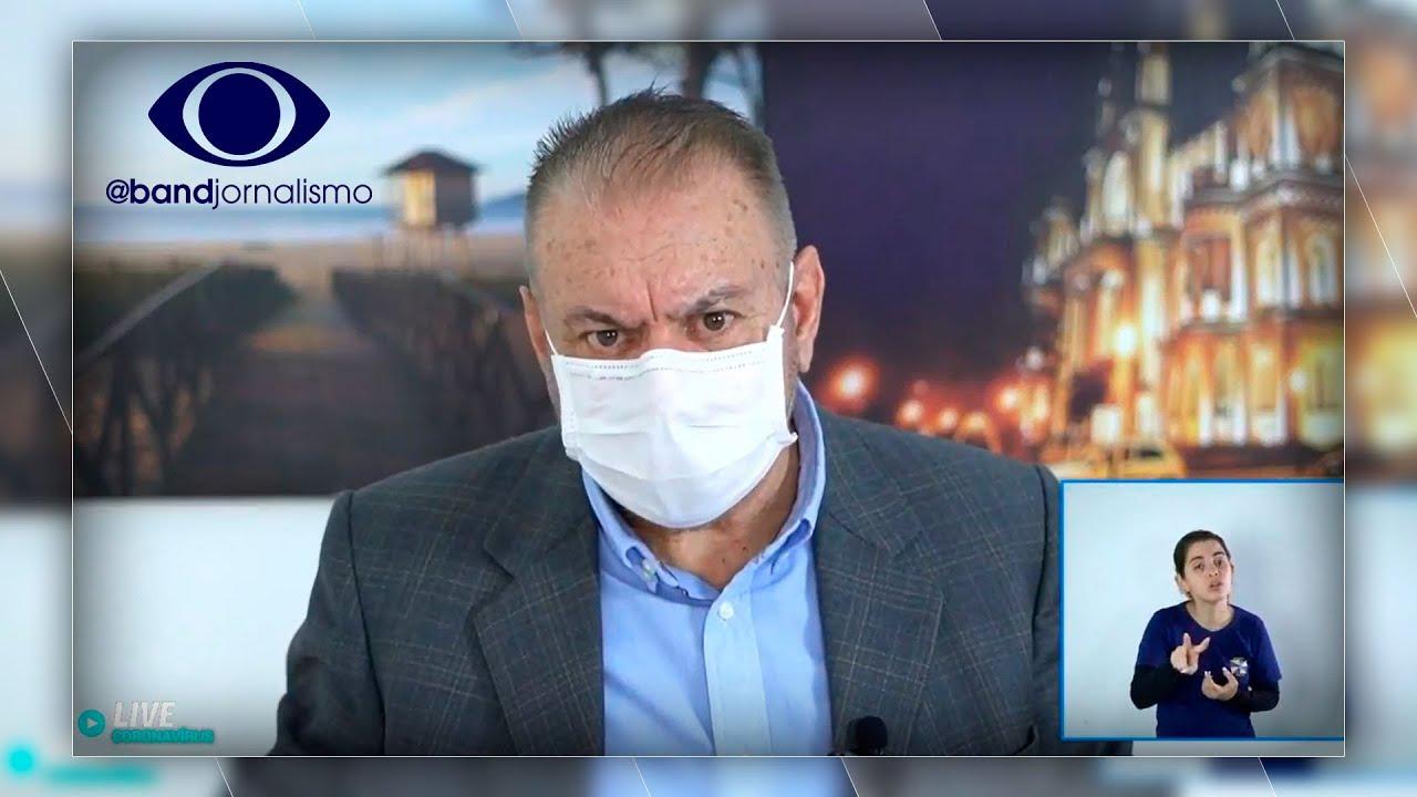 """Ozônio contra covid: Prefeito de SC sugere uso do gás """"via retal"""" – Band Jornalismo"""
