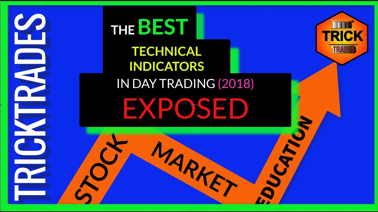 Daytrading stocks using technical indicators ( if you're not using these,  you're losing) 2018