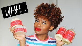 DOES THIS *NEW* SHEA MOISTURE LINE END SHRINKAGE??? | (idk how to feel)