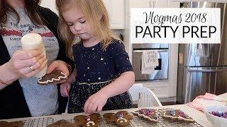 Vlogmas 2018 | Holiday Party Prep