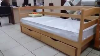 Кровать детская с ящиками Ева. Обзор от Mebelmart.com.ua