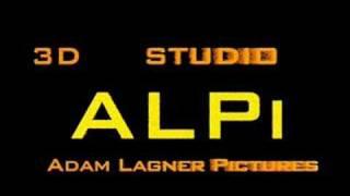 Logo - Alpi 3D studio - in 3DS MAX