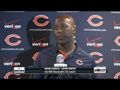 Bears vs Giants: Lovie Smith Postgame