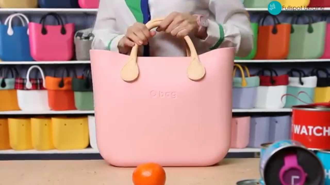 67e6a63f6636 Сумка O bag Standart/ Размер - YouTube