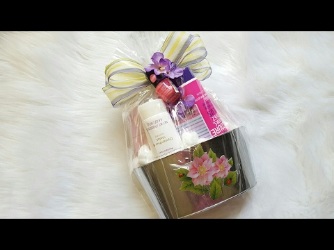 DOLLAR TREE GIFT BASKET | DIY GIFT IDEA | MOTHER'S DAY GIFT