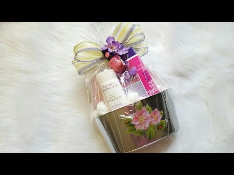 DOLLAR TREE GIFT BASKET | DIY GIFT IDEA | MOTHER'S DAY GIFT